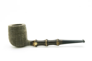 Billiard Bamboo Bog Oak G. Penzo Pipe1