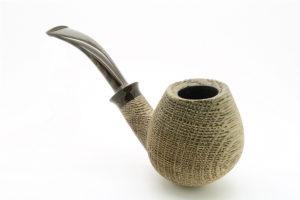 Bent Egg Bog Oak G. Penzo Pipe4