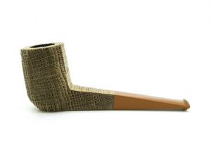 Panel Chimney Bog Oak G. Penzo Pipe1